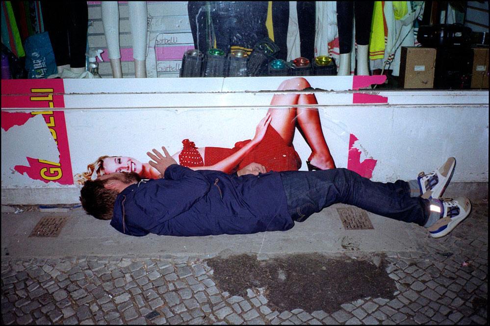 streetphotography analog Berlin together