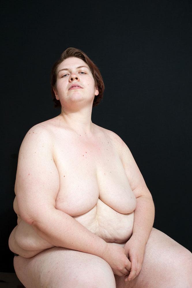 creative portrait nude