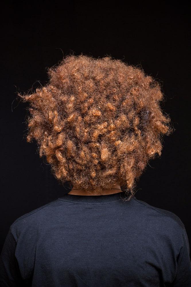 creative portrait afro