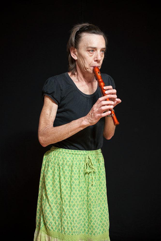 creative portrait flute