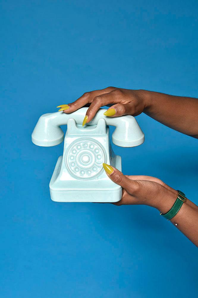 brand photography phone hand